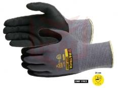 ALL FLEX Nylon Spandex with PU Palm Coated Gloves
